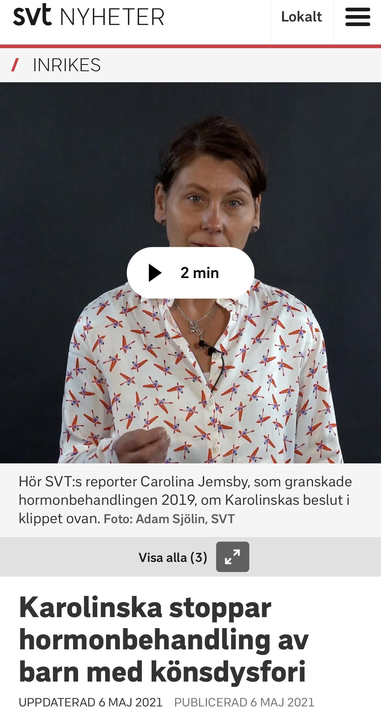 Hormonstopp Karolinska
